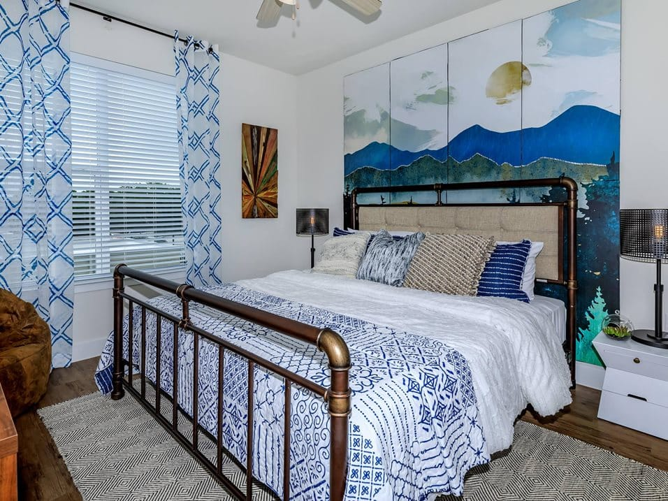 edison model bedroom