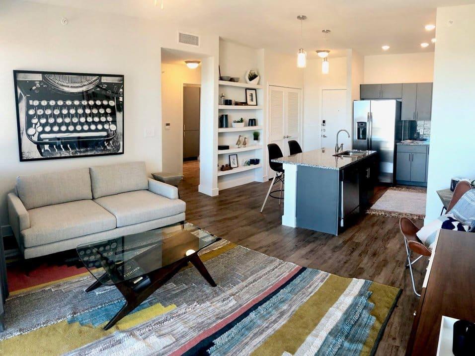 edison model living room